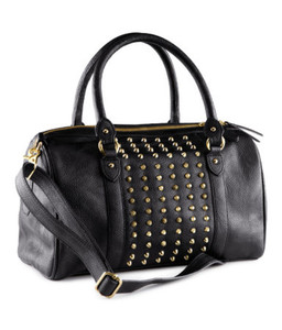 bag purse h&m studded leather purse