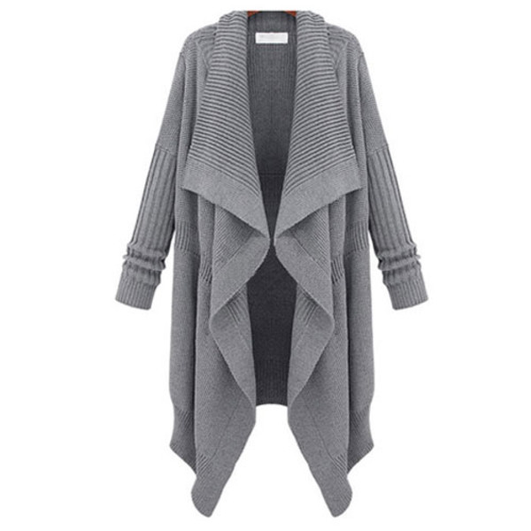 sweater cardigan leisure lapel