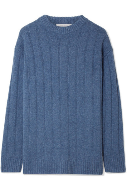 The Row sweater blue