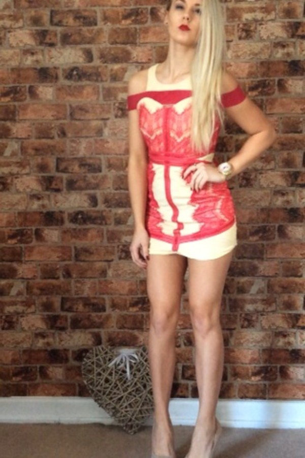 dress red dress lace dress ebay
