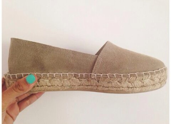 shoes tan espadrilles blouse