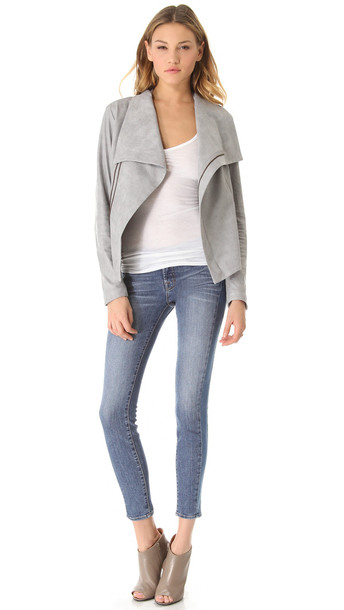 jeans j brand denim trendy fashion fab trendy jeans patchwork shopbop fashionista winter outfits celebrity style steal