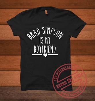 shirt the vamps bradley will simpson boyfriend funny black top fangirl band t-shirt black t-shirt