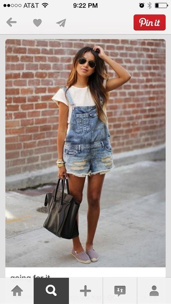 overalls denim overalls