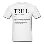 Trill Verb Men's T-Shirt | Bro_Oklyn Inc Co.