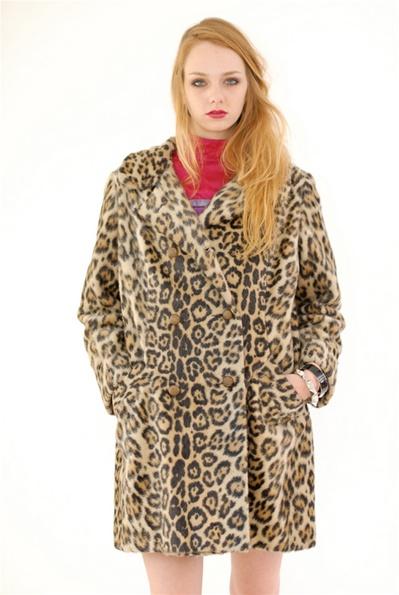 Lolita leopard faux fur coat<br /> $164