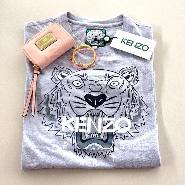 kenzo tiger shirt grey sale   OFF34% Discounts 0348e0b28