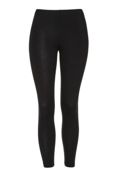 Topshop leggings black pants