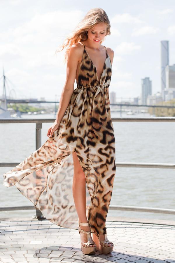 dress leopard print maxi open back maxi dress leopard print leopard print