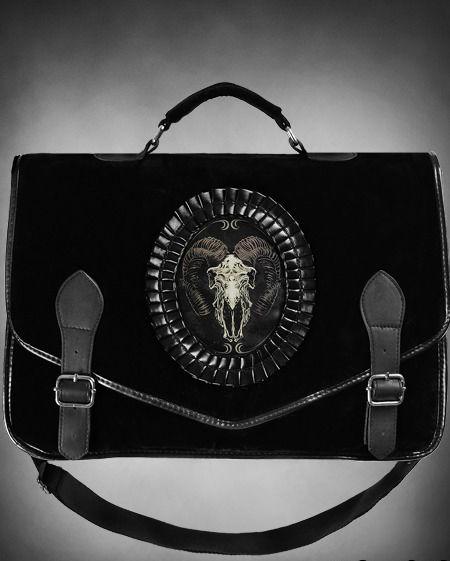 Tasche Widder Skull Satanic Punk Gothic Emo Gothic Lolita Emo Rave Victorian | eBay