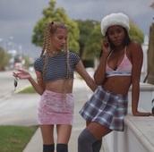 top,pink,grey,black,skirt,calvin klein,pink skirt,tank top,pink velvet,velvet skirt,soft,velvet,underwear,bra,calvin klein bra,hat,white,fur