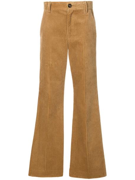 Marc Jacobs women nude cotton pants