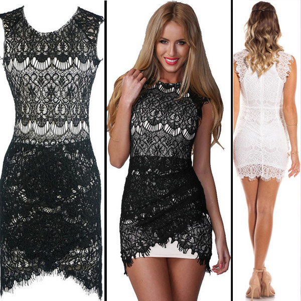 dress sexy sexy dress lace dress white dress bodycon dress