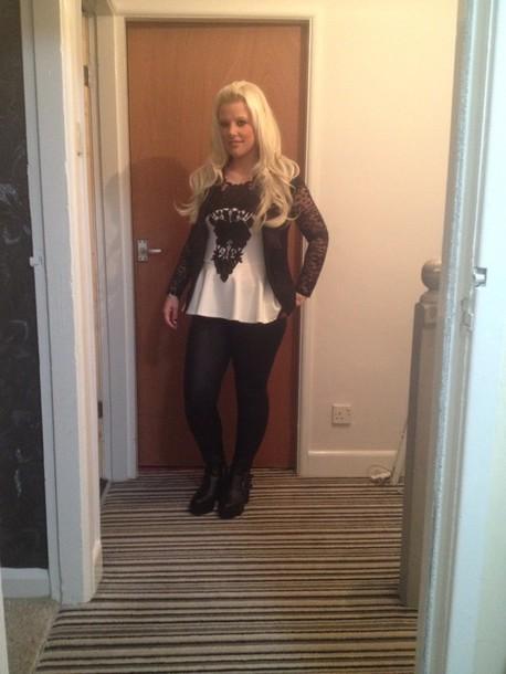 blouse leggings