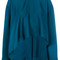 Marni - flared blouse - women - viscose - 42, blue, viscose
