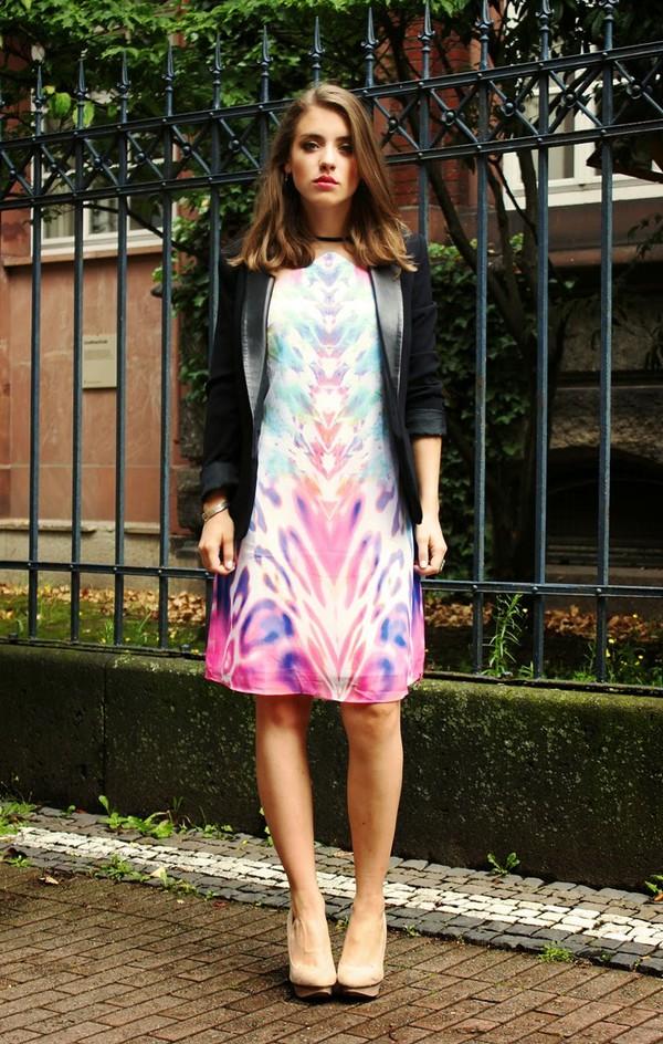 franellee blogger jacket shoes pastel