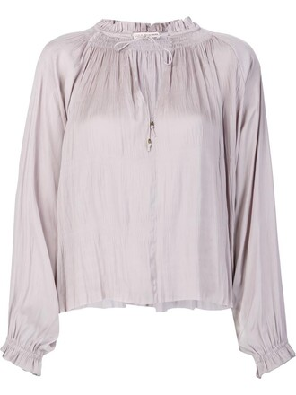 blouse women nude top