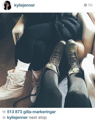 shoes palladium kylie jenner olive green keeping up with the kardashians