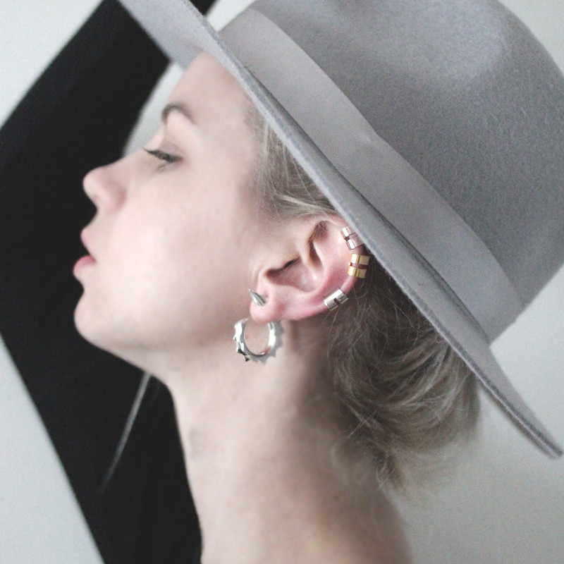 The 'Marianne' Mini Ear Cuff - Solid Sterling Silver