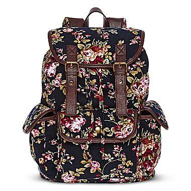 jcpenney | Olsenboye® Floral Corduroy Backpack