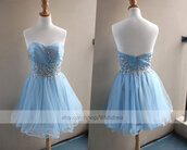 ice blue cocktail dress,ice blue homecoming dress,short formal dress,cocktail dress,prom gown,cocktail dress 2015,short prom dress,ice blue prom dress