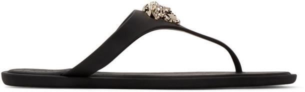 VERSACE sandals black shoes