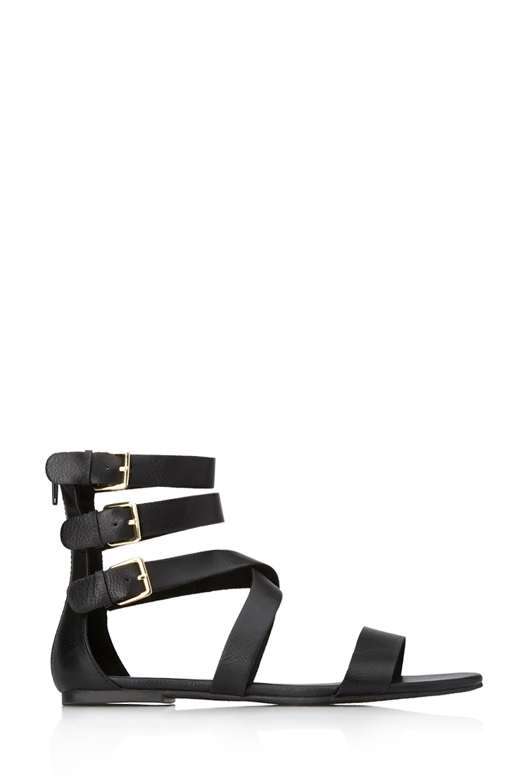 Day Dreamer Strappy Sandals | Shoes | Women - 2000065131 | Forever 21 EU
