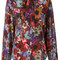Diesel - floral print blouse - women - viscose - m, viscose