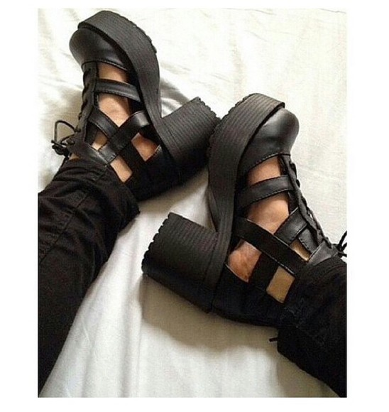 high heels grunge