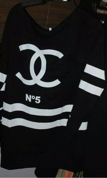 black dress chanel sportswear