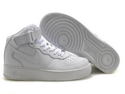 air forces white high tops
