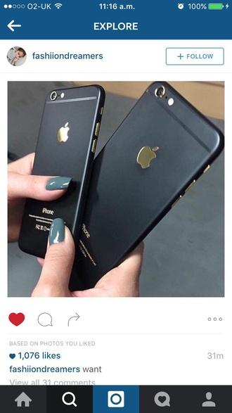 phone cover matte black gold iphone case iphone cover iphone 6 case iphone 6 cover apple apple iphone apple product apple iphone cases