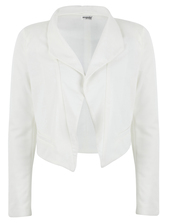 jacket,white,classy,blazer,cropped,office outfits