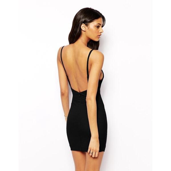 dress black mini dress black low back dress low back short dress mini dress