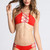 2015 INDAH Hapa Top in Red - Swimwear | ISHINE365