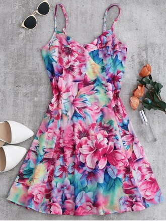 dress floral girly cute fashion style trendy spring summer