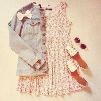 floral dress summer dress fashion style
