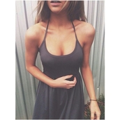 dress,simple dress,casual,casual dress,grey dress,on point clothing,indie,urban,trendy,style,stylish,blogger,skinny,thinspo,body goals,tumblr outfit,tumblr dress