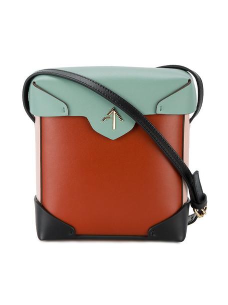 manu atelier mini women bag shoulder bag leather red