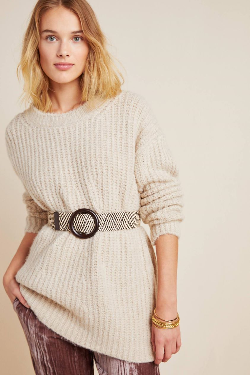 Camila Sweater by Anthropologie in Beige