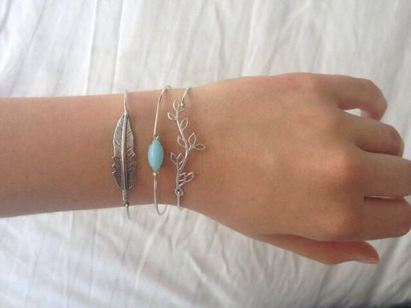 jewels bracelet blue tiffany blue