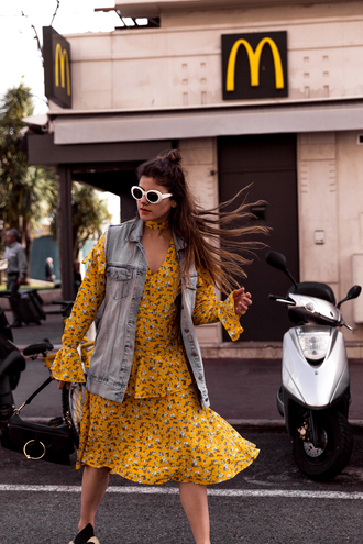 the fashion fraction blogger jacket dress bag shoes sunglasses
