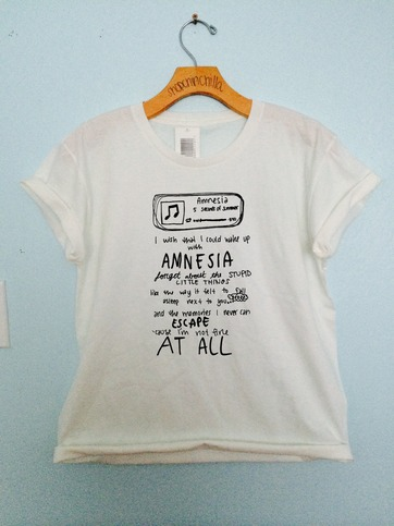 amnesia 5sos · shopchinchilla · Online Store Powered by Storenvy