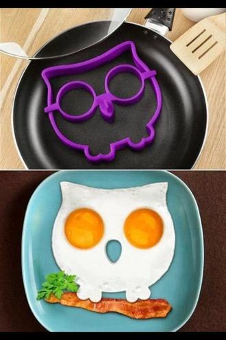 bag egg owl cutter stencil