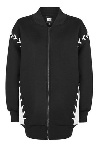 oversized black jacket