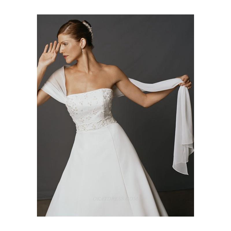 Casablanca 1704 Bridal Gown (2011) (CB04_1704BG) - Crazy Sale Formal Dresses Special Wedding Dresses Unique 2017 New Style Dresses