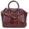Givenchy mini antigona tote bag, women's, red, python skin