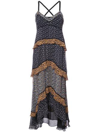 dress maxi dress maxi women black silk