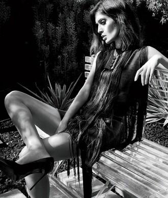 lizzy caplan dress little black dress shoes