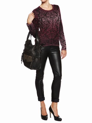 Berenice mode femme pull animal affolee1